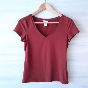 2/$30❤ H&M Basic V-Neck T-Shirt